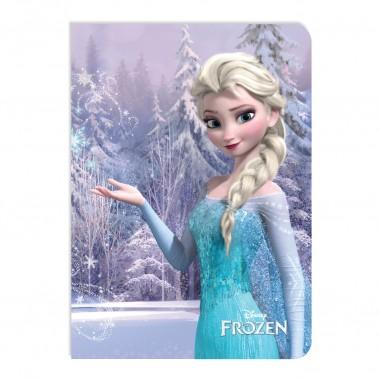 Caderno Quadriculado A4 - Frozen