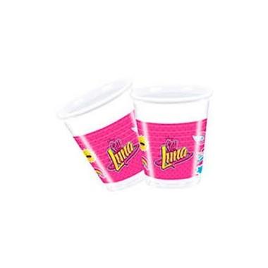 Copos de plástico Luna - 200 ml