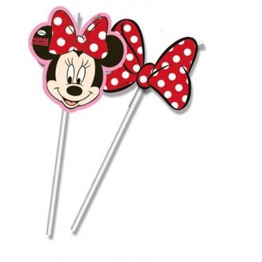 Palhinhas - Minnie Mouse