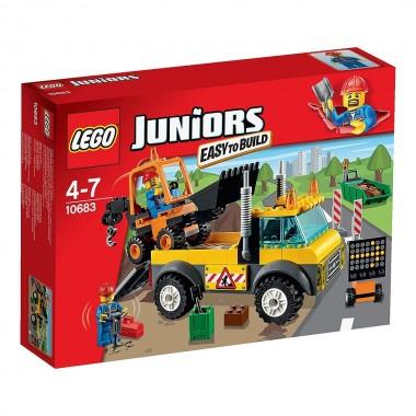 LEGO Junior - Camião das Obras na Estrada