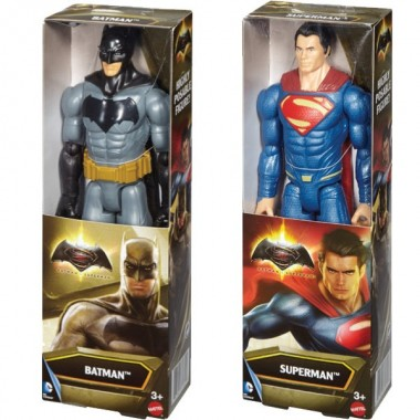 Figura Batman / Superman 30 cm