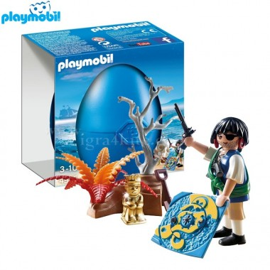 Playmobil - Pirata com Tesouro