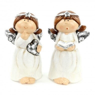 Anjo de cerâmica - Natal