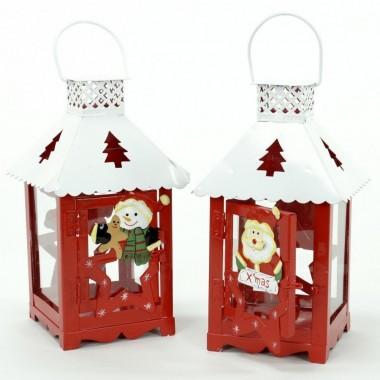 Lanterna de metal - Natal