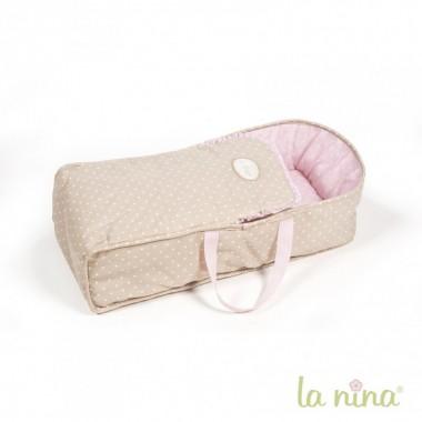 Alcofa para Bonecas - Inês - La Nina