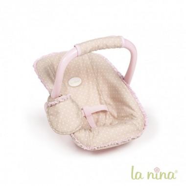 Cadeira Maxi-cosi (Ovo) p/ Bonecas - INÊS - La Nina