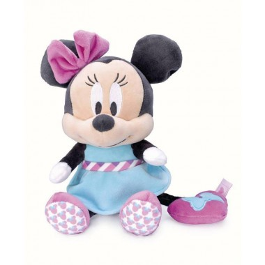 Peluche Musical 24 cm  Disney Bebé Mickey e Minnie