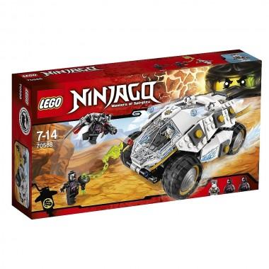 LEGO Ninjago - Tumbler Ninja em Titanio