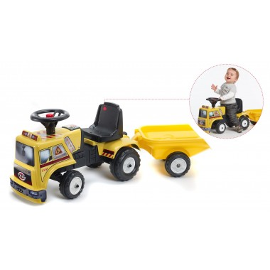 Falk - Camião + atrelado para bebé - 1 a 3 anos