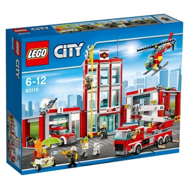 LEGO City - Quartel dos Bombeiros