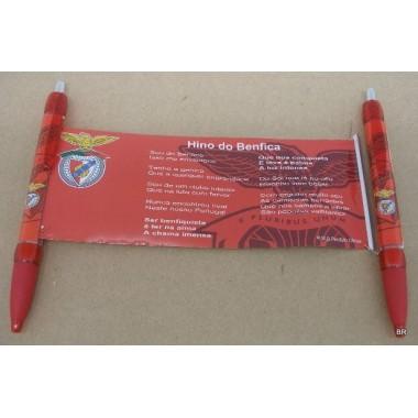 Esferográfica / Caneta com logo Benfica