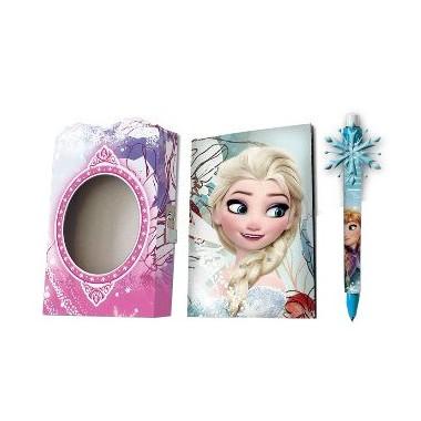 Diário Frozen + Caneta