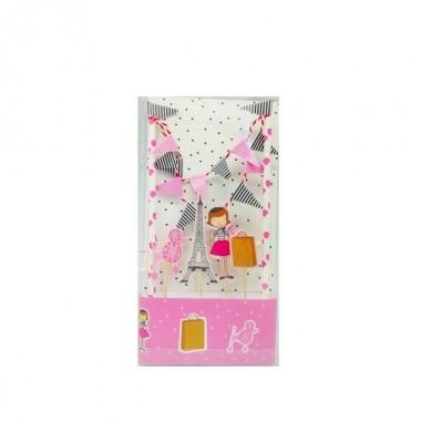 Kit de decoração para bolo - Menina