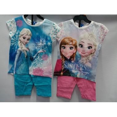 Conjunto T-shirt + Legging -  Frozen