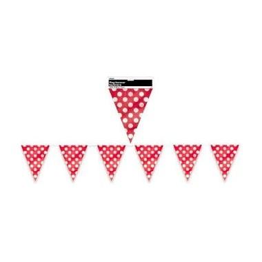 Bandeiras Triangulares bolinhas