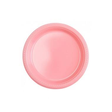 Pratos de plástico - 18 cm
