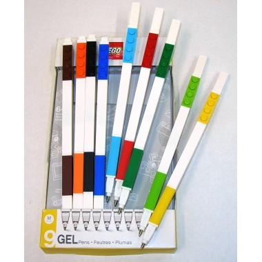 Pack 9 canetas de gel - Lego