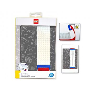 Agenda com placa de construção - Lego