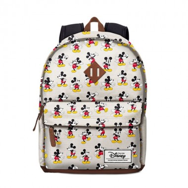 Mochila  Escolar - Freetime Mickey Disney Original - 42 cm