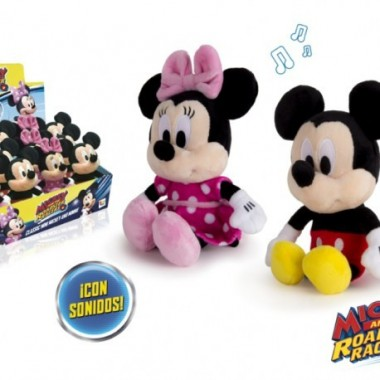 Peluche Mickey e Minnie - 22 Cms