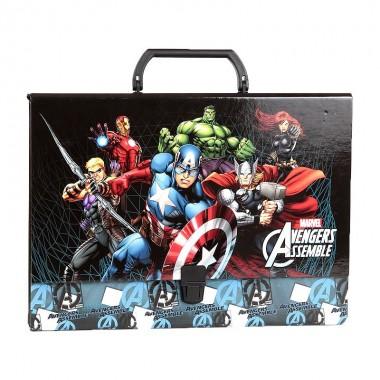 Mala / Pasta de cartão - Avengers