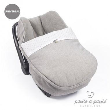 Saco / Forra Universal de Inverno Pasito a Pasito - Sweet Tweed
