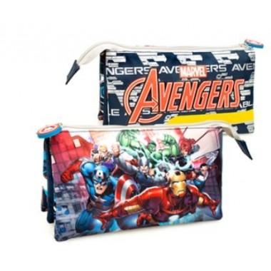 Estojo Triplo - Avengers