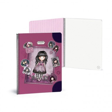 Caderno Argolas Pautado A4 - Gorjuss