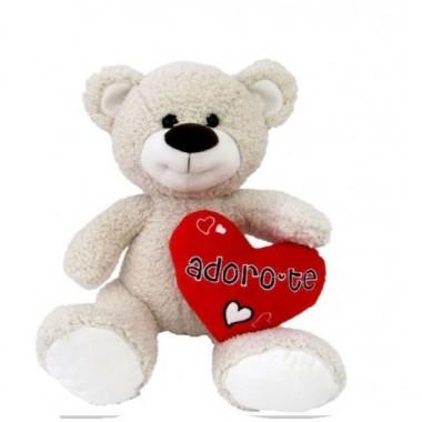 Urso de Peluche 20 cm - Adoro-te (Namorados)