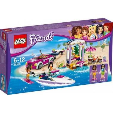 Lego Friends - Lancha rápida da Andrea