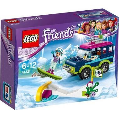 Lego Friends - Todo-o-terreno da Estância de Esqui