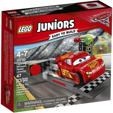 LEGO Juniors - Pista lança - Faísca McQueen