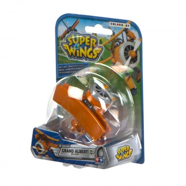 Super Wings - Figura de metal