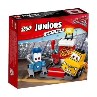 LEGO Juniors - A Paragem nas Boxes de Guido e Luigi