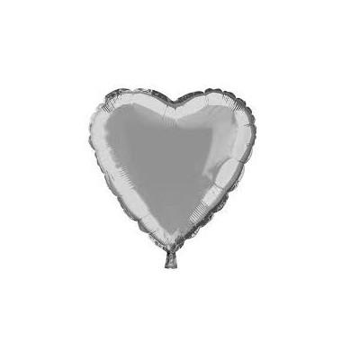 Balão metalizado - 48 cm - Coração
