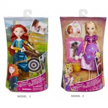 Princesas Disney - Sonhos de Princesa - Rapunzel / Mérida