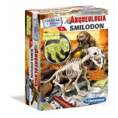 Ciência e Jogo - Arqueologia - Smilodon