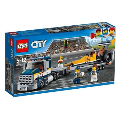 LEGO City - Transportador de Dragsters