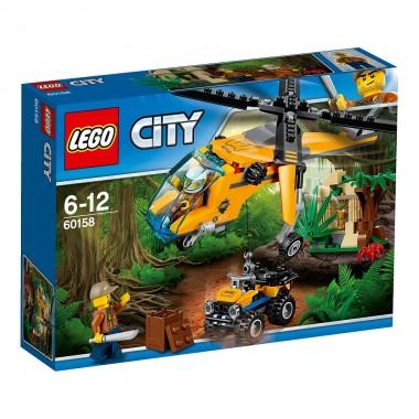 LEGO City - Helicóptero de Carga da Selva
