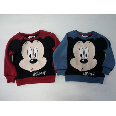 Camisola / Sweat Mickey com orelhas 3D