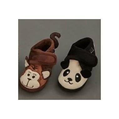 Pantufas Victoria - Panda / Leão