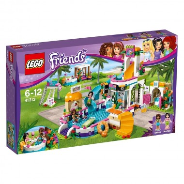 Lego Friends - Piscina de Verão de Heartlake