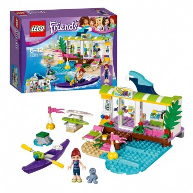 Lego Friends - A Loja de surf Heartlake