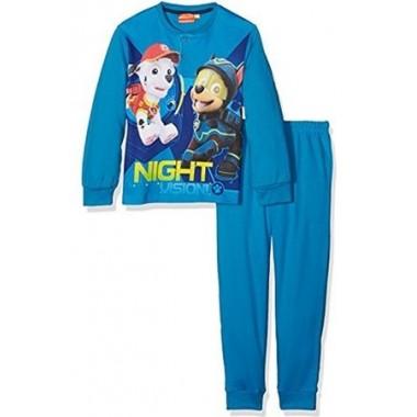 Pijama de algodão Patrulha Pata