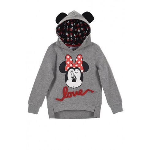 Sweat / Camisola c/ carapuço Minnie Mouse