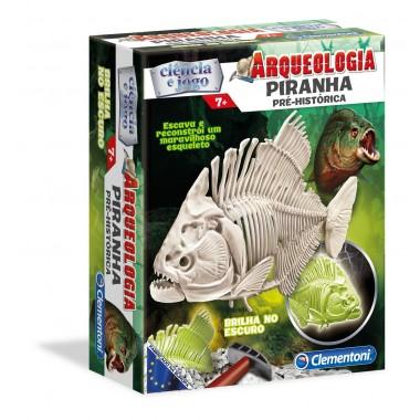 Ciência e Jogo - Arqueologia - Piranha - clementoni