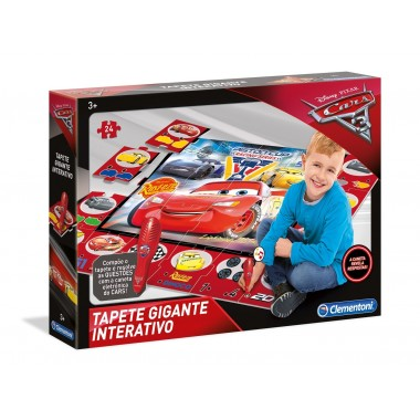 Tapete Interativo Cars 3 - clementoni