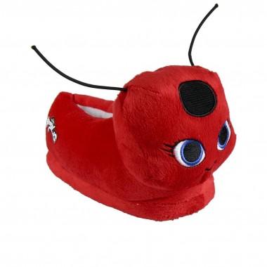 Pantufas 3D Ladybug