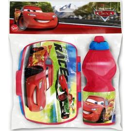 Sanduicheira + Garrafa / Cantil Cars