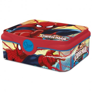 Caixa para lanche / Sandwicheira - Homem Aranha